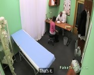Doctor Fucks Milf Patient On A Desk - scene 2