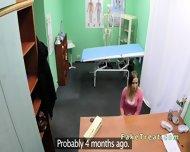 Doctor Fucks Milf Patient On A Desk - scene 3