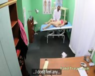 Doctor Fucks Milf Patient On A Desk - scene 7