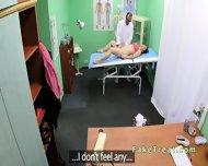 Doctor Fucks Milf Patient On A Desk - scene 7