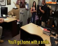 Cuban Chick Sells Her Tv And Fucked Hard At The Pawnshop - scene 5