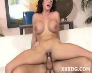 Very Horny Brunette Beauty - scene 12