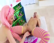 Candy In Her Both Enchanting Holes - scene 6