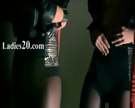 Mysterious Model Masturbates With Dildo - scene 1