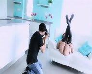 Ultra Whore Posing Before Camera - scene 8