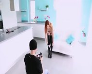 Ultra Whore Posing Before Camera - scene 5