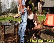 Watersports Hooker Fucks - scene 5
