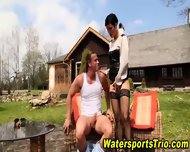 Watersports Hooker Fucks - scene 6