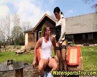 Watersports Hooker Fucks - scene 6