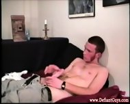 Straight Solo Twinks Masturbate On Sofa - scene 8