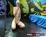 Facialized Blonde Female - scene 3