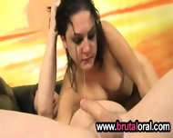 Threesome Throat Banging Action - scene 12