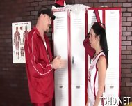 Muscular Stag Drills Girl - scene 8
