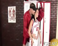 Muscular Stag Drills Girl - scene 9