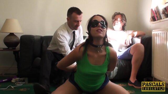 PASCALSSUBSLUTS – Amazing Liz Rainbow Pussy Punished by Daddy