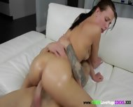 Huge Dong Lover Jumps On Lucky Dude - scene 3