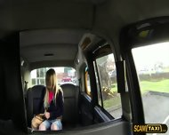 Damn Hot Blonde Sienna Sucks And Fucks In The Taxi To Get A Free Ride - scene 1