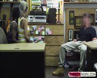 Black Bf Agrees To Get His Hot Gf Fucked In The Shop For Cash - scene 2