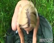 Sexy And Wild Outdoor Oral Sex - scene 10