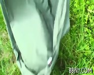 Sexy And Wild Outdoor Oral Sex - scene 3