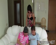 Voyeurs Threesome Delight - scene 2