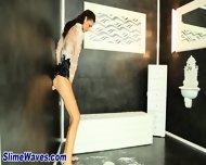 Hot Glamour Babe Toyed - scene 2