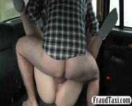 Big Tits Amateurcustomer Sucks And Fucked In The Backseat - scene 7