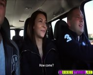 Two Lucky Dudes Picks Up Three Hot Girls Along Thier Way To Vienna - scene 3