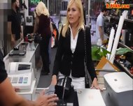 Hot Milf Screwed Up And Receives Money From The Pawnkeeper - scene 1