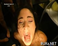 Hungry For Facial Cumshots - scene 9