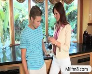 Jessie Volt Anal Fucked With Her Stepmom And Her Boyfriend - scene 2