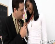 Timid Asian Teen Gets Drilled - scene 1