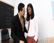 Timid Asian Teen Gets Drilled - scene 2