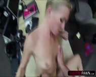 Hot Blonde Country Woman Trying To Sell Her Broken Car Gets Fucked - scene 8