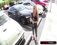 Hot Blonde Country Woman Trying To Sell Her Broken Car Gets Fucked - scene 2
