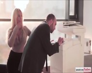 Naughty Kyras Sheer Pleasure With Her Hunk Gorgeous Officemate - scene 3