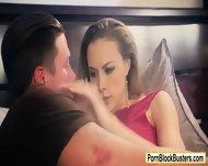Big Juggs Chanel Preston Deepthroats Cock And Fucked In Bed - scene 1