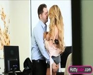 Busty Babe Corrina Blake Fucked And Facialed In The Office - scene 4