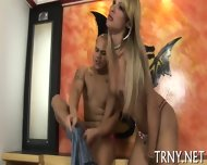 Teen Tranny Tries Sexperiments - scene 4