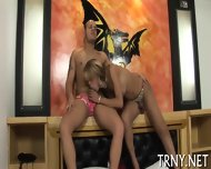 Teen Tranny Tries Sexperiments - scene 5
