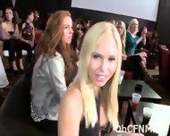 Ladies In The Club Deep Sucking Hard Cock - scene 1