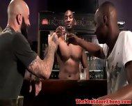 Gaysex Interracials Mmm Fun In A Bar - scene 1