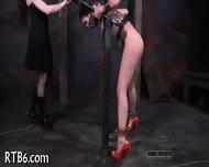 Savage Pleasuring For Hot Lass - scene 6