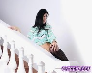 Tall Erotic Brunette Beauty - scene 1