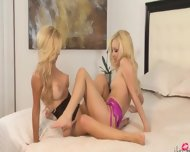 Unique Blonde Girl4girl Eating Pussies - scene 8