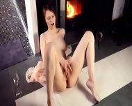 Titty Beata Fingering Her Pussy - scene 8