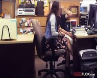 College Student Sells Books And Pounded At The Pawnshop - scene 3