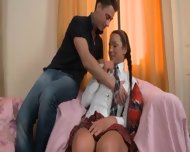 Hot Lesson Of Beautiful Russian Princess - scene 2