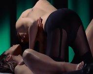 Lesbian Strap On Hardcore Penetrating - scene 3