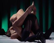 Lesbian Strap On Hardcore Penetrating - scene 4